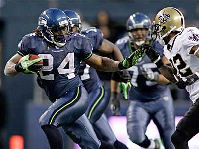 timeless design 6c8b2 e7cde Quack-Quack: The Seattle Seahawks Get New Uniforms | THE BS BLOG